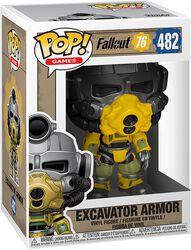 76 - Excavator Armor Vinyl Figure 482