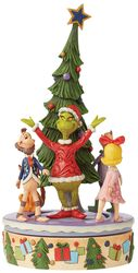 Grinch Rotator With Whos