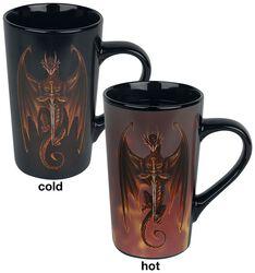 Dragon Warrior - Heat-Change Mug