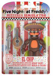 Pizza Simulator - El Chip Action Figure