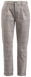 Ladies Check Trousers