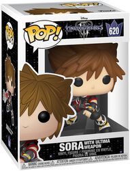 3 - Sora with Ultima Weapon Vinyl Figure 620