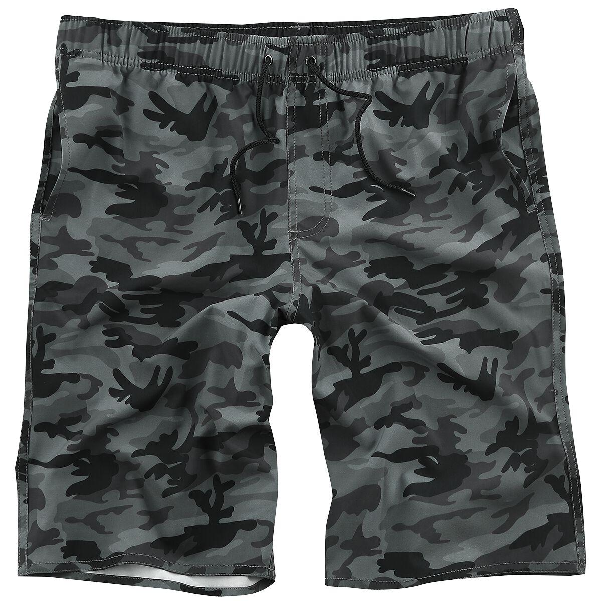 ddefa06542 Camo Beach | Doomsday Swim Shorts | EMP