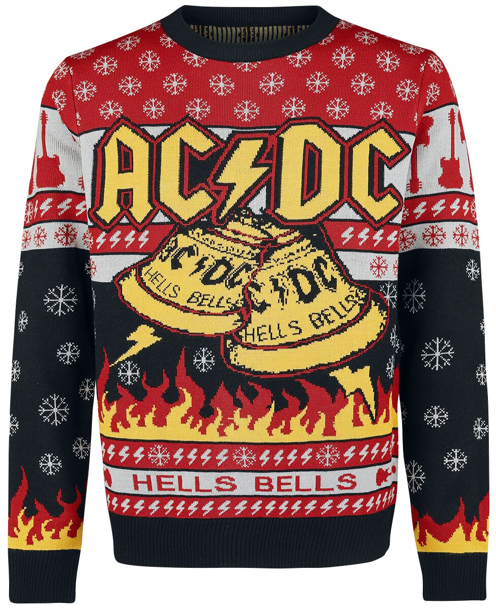 Holiday Sweater 2018 | AC/DC Christmas jumper | EMP