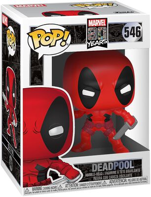80th - First Appearance: Deadpool Vinyl Figure 546