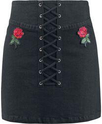 Not A Romantic Rose Skirt