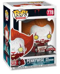 Part 2 - Pennywise with Skateboard Vinyl Figure 778