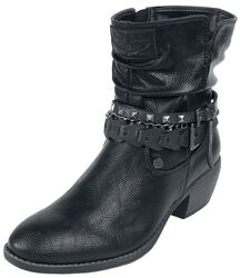 Boots with Chains and Buckles