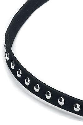 Velvet Rivets Necklace
