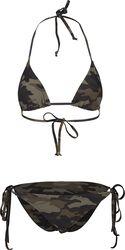 Ladies Camo Bikini