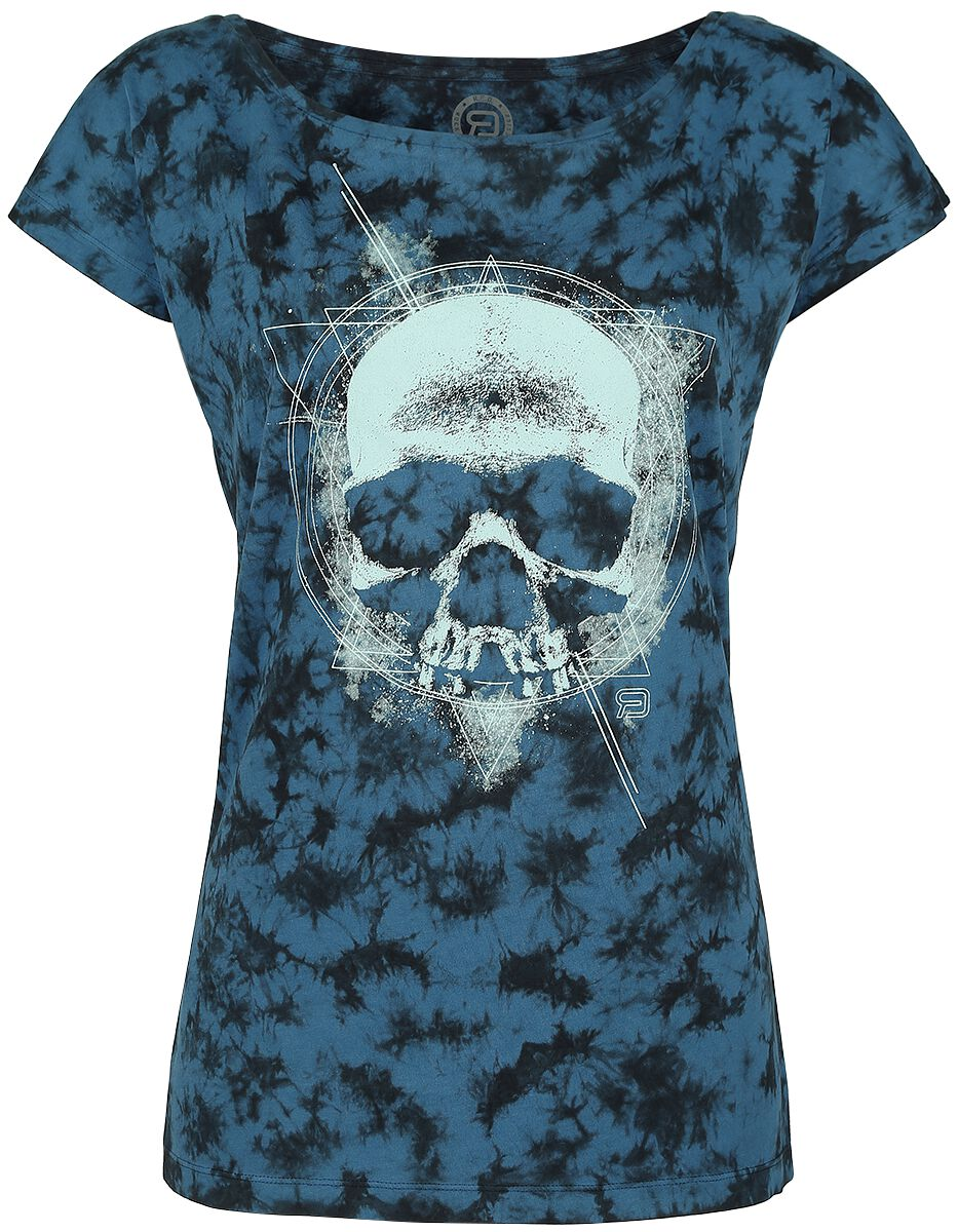 Acid Geometric Skull T-Shirt Buy online now