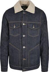Sherpa Lined Jeans Jacket