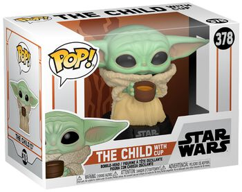 The Mandalorian - The Child with Cup Vinyl Figure 378