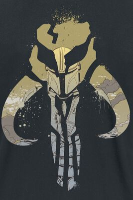 The Mandalorian - Splatter Sign