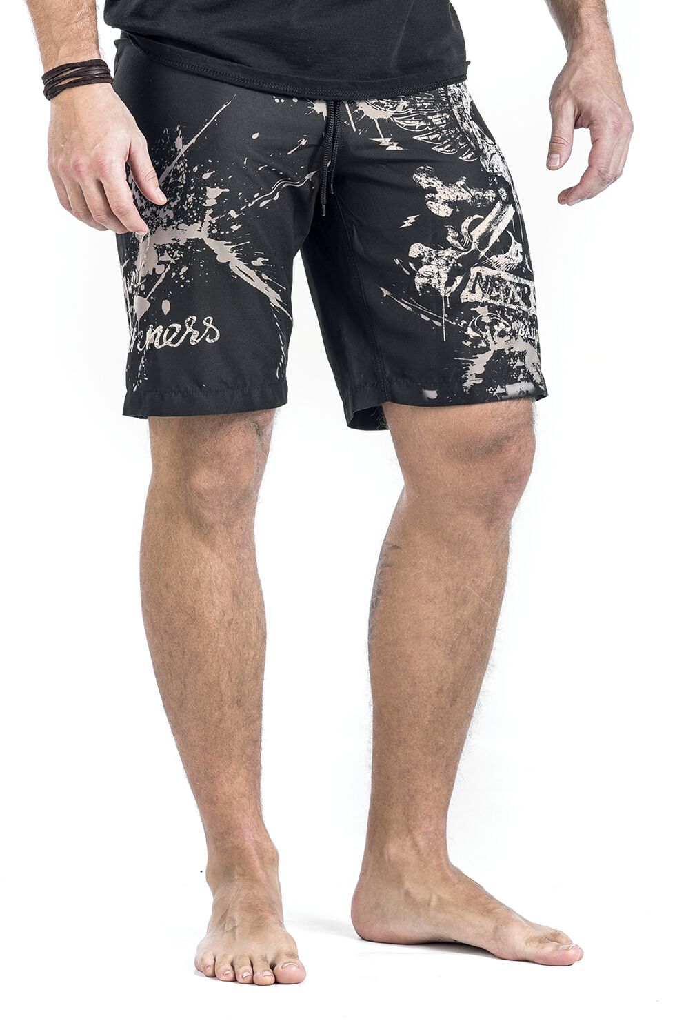 ec7d682f169 Swimming Time | Rock Rebel by EMP Swim Shorts | EMP