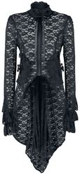 Pirate Coat in Black Lace