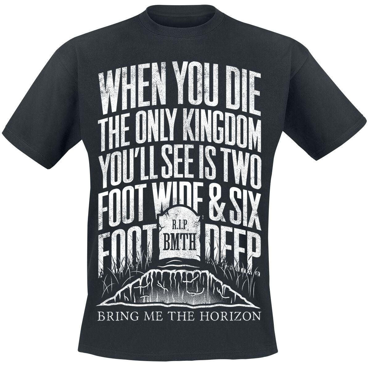 5ede938cd Bring Me The Horizon. Grave. T-Shirt. 4 Reviews