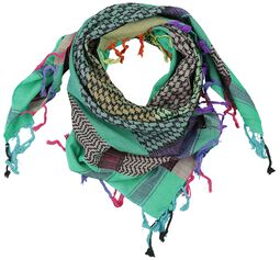 Palestinian Scarf Multicolour Blue-Green