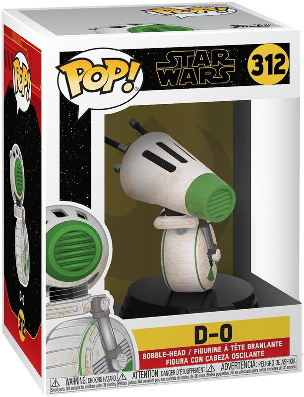 Episode 9 - The Rise of Skywalker - D-O Vinyl Figure 312