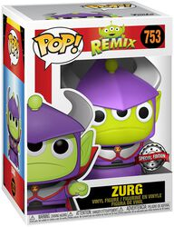 Alien As Zurg (Metallic) Vinyl Figure 753