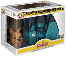 Scooby Doo Scooby Doo and Haunted Mansion (Pop! Town) Vinyl Figure 01