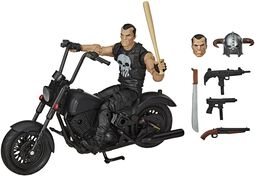 The Punisher And Motorbike (Marvel Legends Series)