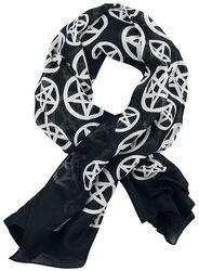 Pentagramm Ocult Tuch