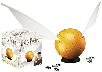 Golden Snitch (3D Puzzle 64 Pieces)