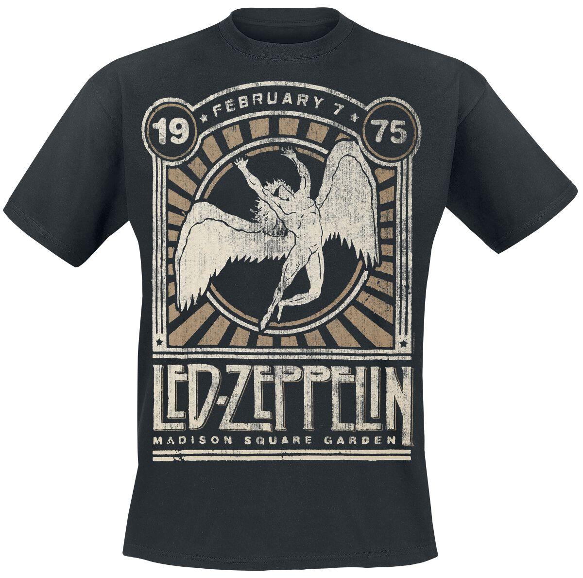 Madison Square Garden 1975 Led Zeppelin T Shirt Emp