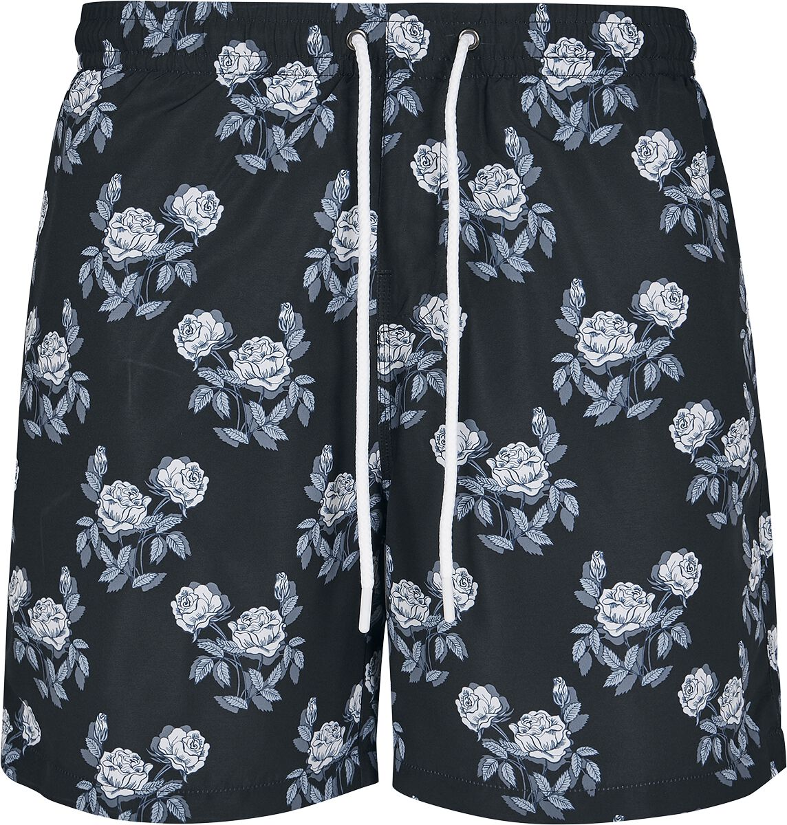 3bbb06a6c0 Rose Pattern Swim Shorts | Urban Classics Swim Shorts | EMP
