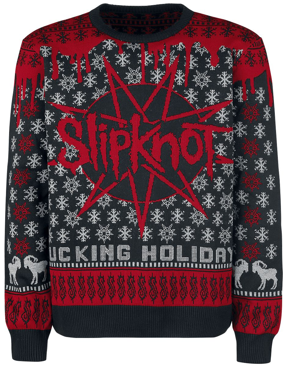 Holiday Sweater | Slipknot Christmas jumper | EMP