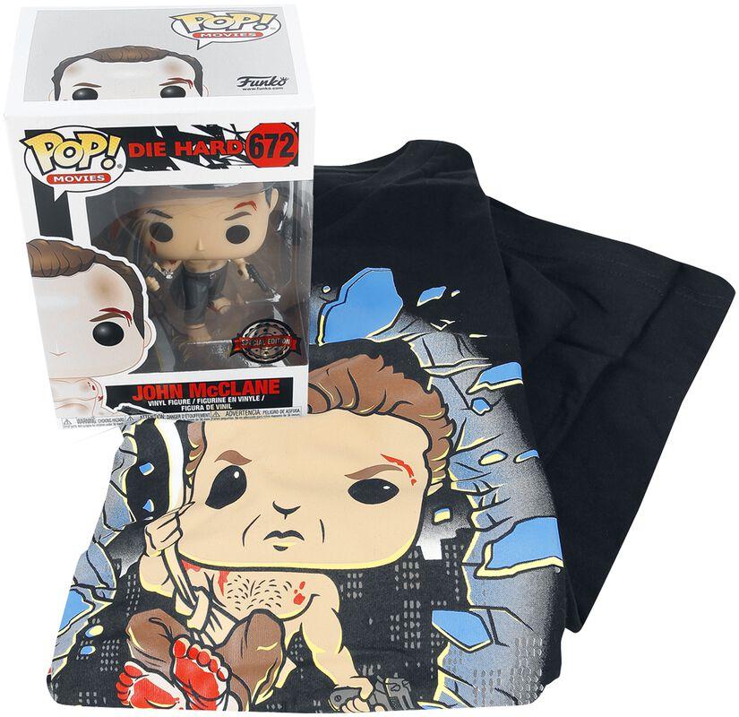 Die Hard Die Hard T-Shirt plus Funko - Fan Package