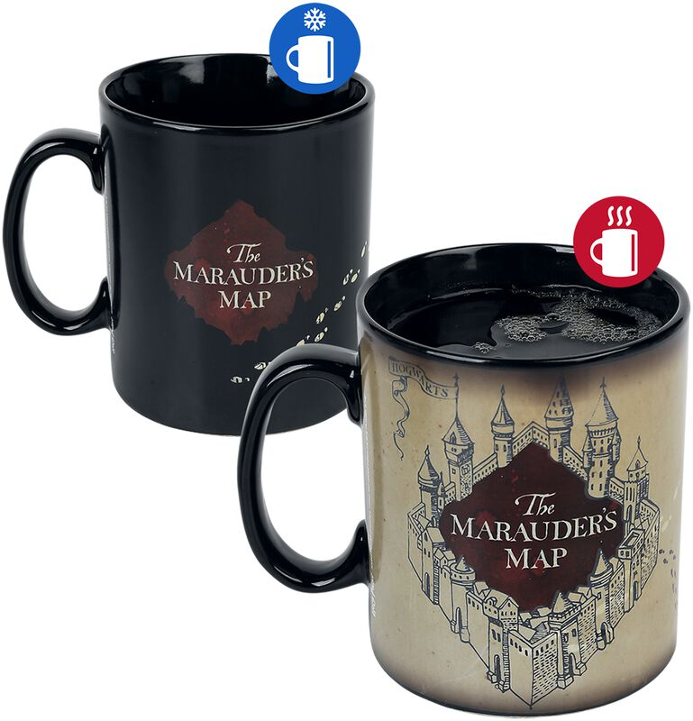 Marauder's Map - Heat-Change Mug