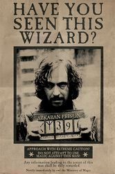 Wanted Sirius Black