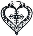 Heart of Royal Blood Hoops