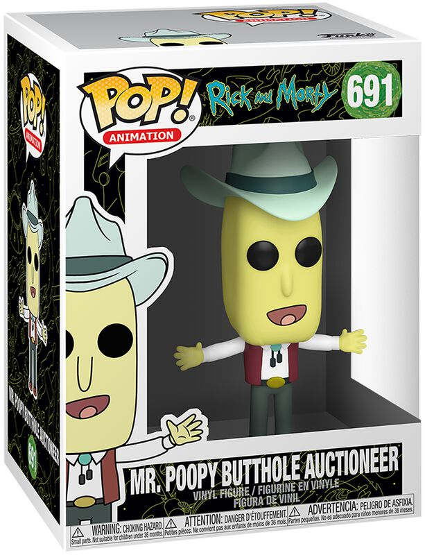 Season 4 - Mr. Poopy Butthole Auctioneer Vinyl Figure 691