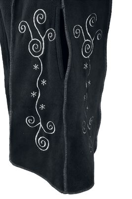 Embroidered Fleece Hood