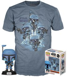 The Mandalorian T-Shirt plus Funko Death Watch Mandalorian Vinyl Figure