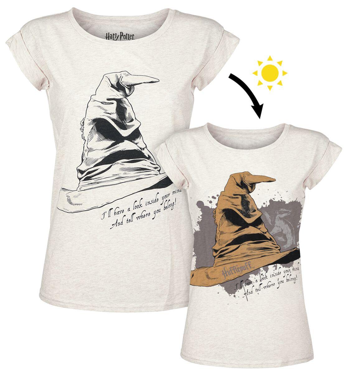 083da1897ea2f The Sorting Hat - Hufflepuff UV   Harry Potter T-Shirt   EMP