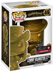 Lemmy Kilmister Rocks (Gold) Vinyl Figure 49