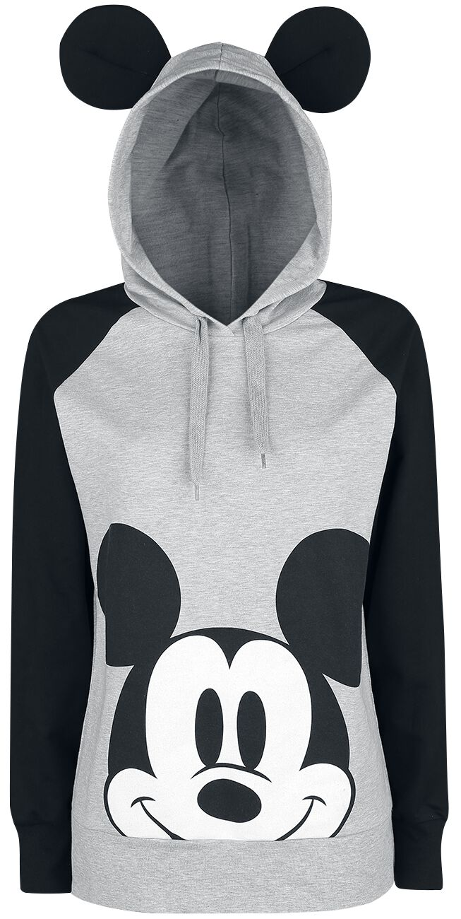 Mickey Face | Mickey Mouse Hooded sweater | EMP