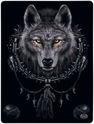 Wolf Dreams Fleece Blanket