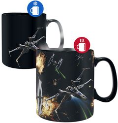 Space Battle - Heat-Change Mug