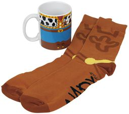 Woody - Mug with Socks