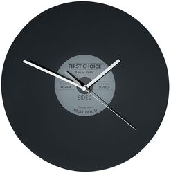 Glass Wall Clock Vinyl