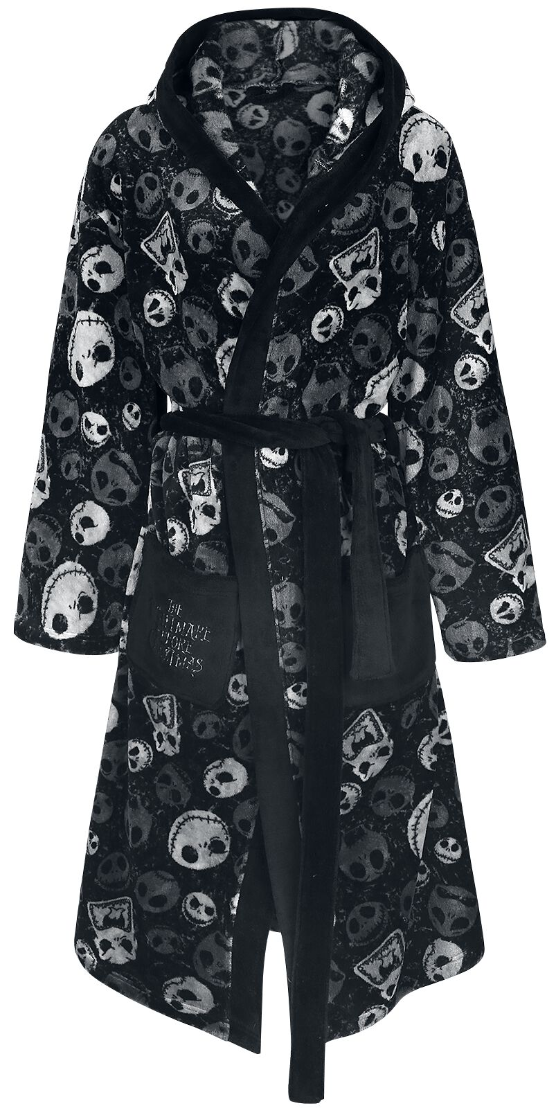 Classic Skull | The Nightmare Before Christmas Bathrobe | EMP