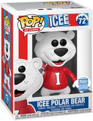 Ad Icons: Icee Polar Bear (Funko Shop Europe) Vinyl Figure 72