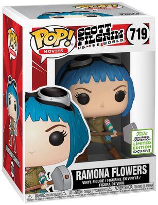 Scott Pilgrim vs. the World ECCC 2019 - Ramona Flowers (Funko Shop Europe) Vinyl Figure 719