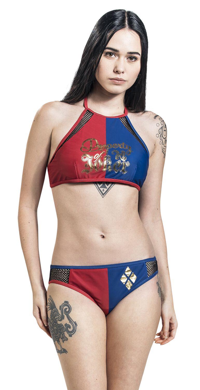 d48d2118d2f1b Harley Quinn - Property of Joker | Suicide Squad Bikini Set | EMP