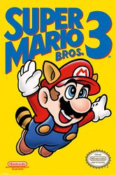 Super Mario Bros. 3 - NES Cover